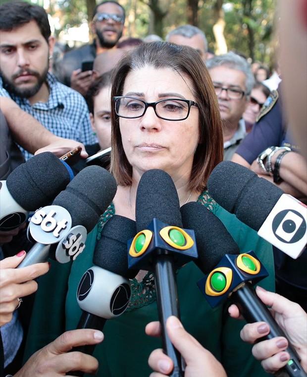 Maria do Carmo Viana, prima do Rafael (Foto: QUEM)