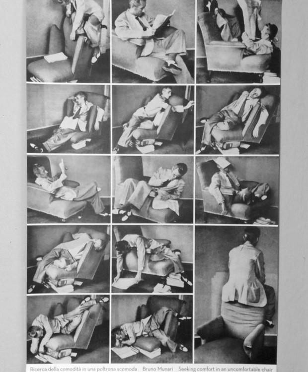 "Obra ""Seeking Comfort in an Uncfoomrtable Chair"", de Bruno Munari (Foto: Zabriskie/ Reprodução)"
