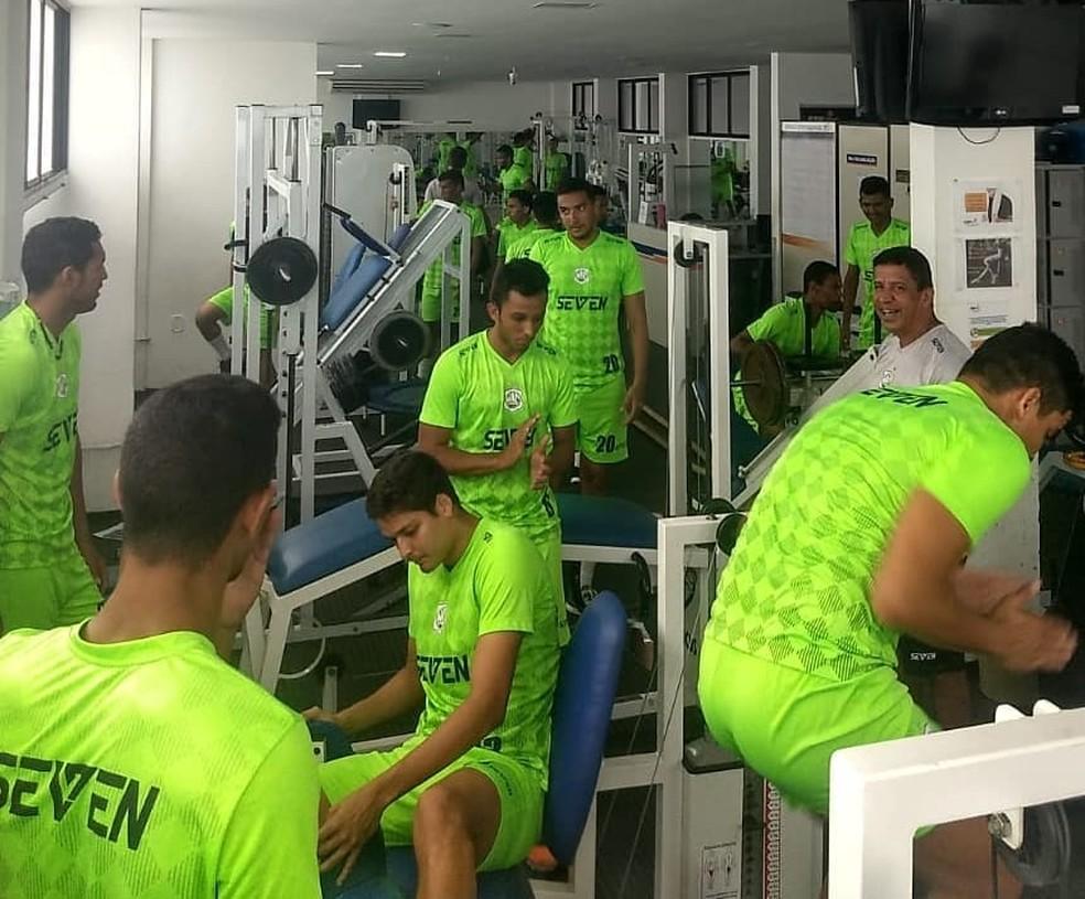 Nacional de Patos esterei neste sábado no Campeonato Paraibano — Foto: Divulgação / Nacional de Patos