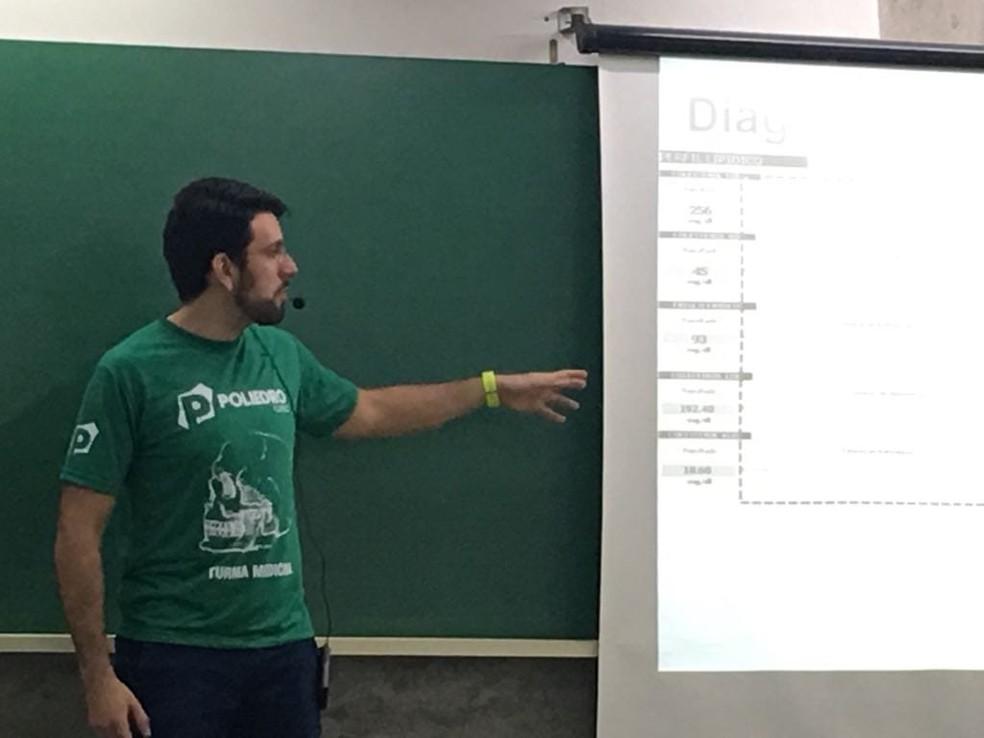 Para Vinicius Haidar, a prova de Exatas do Enem se tornou mais 'conteudista', exige cálculos e ainda traz muitos textos. — Foto: Arquivo Pessoal
