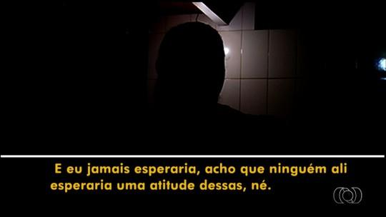 Enfermeira diz que levou 'gravata' ao tentar impedir PM de entrar em sala restrita da UPA de Rio Verde: 'Jamais esperaria'