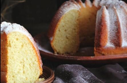 O bolo de laranja da Diva