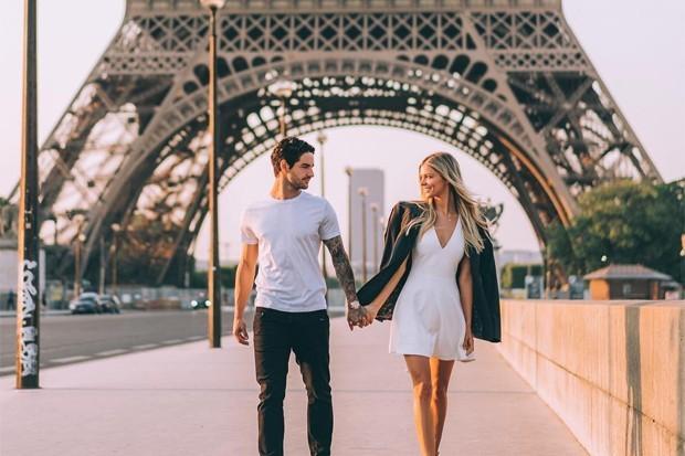 Alexandre Pato e Danielle Knudson (Foto: Reprodução/Instagram)