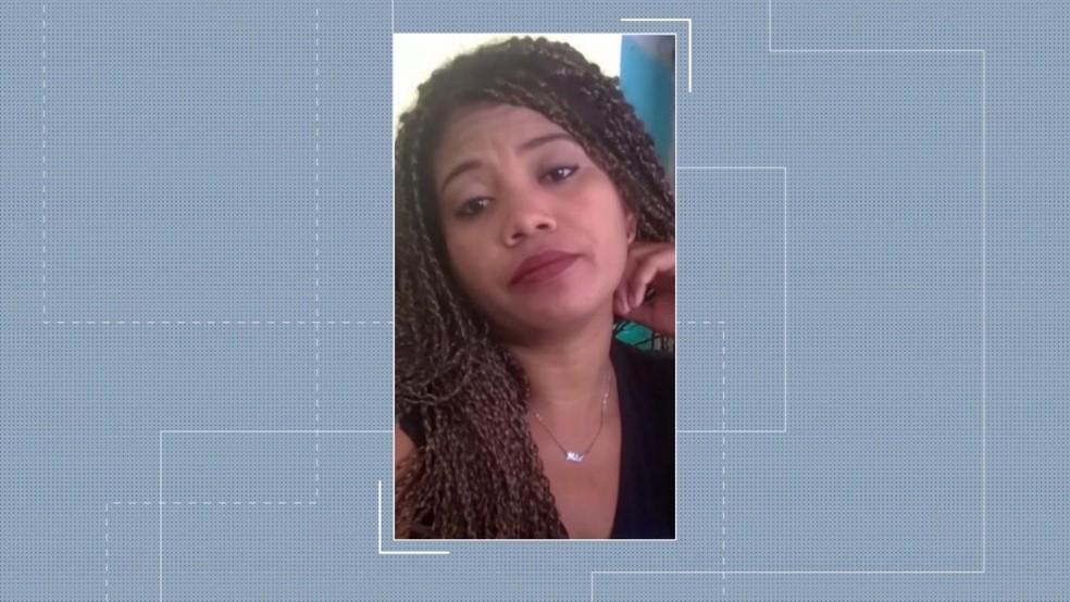 Ildelene foi morta a facadas pelo companheiro em Maracaçumé, no Maranhão — Foto: Reprodução/TV Mirante