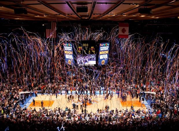 Os jogos de basquete têm ingressos disputados em Nova York (Foto: Divulgação)