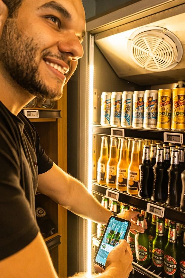 Rodrigo Miranda, CEO da Zaitt: toda a jornada do cliente na loja é a partir do aplicativo (Foto: Divulgação)