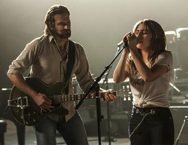 Lady Gaga e Bradley Cooper no filme Nasce Uma Estrela (Foto: Divulgação)