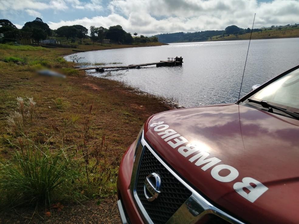 Vítima que caiu em rio da represa de Jurumirim em arandu era um homem de 53 anos — Foto: Corpo de Bombeiros de Avaré/Divulgação