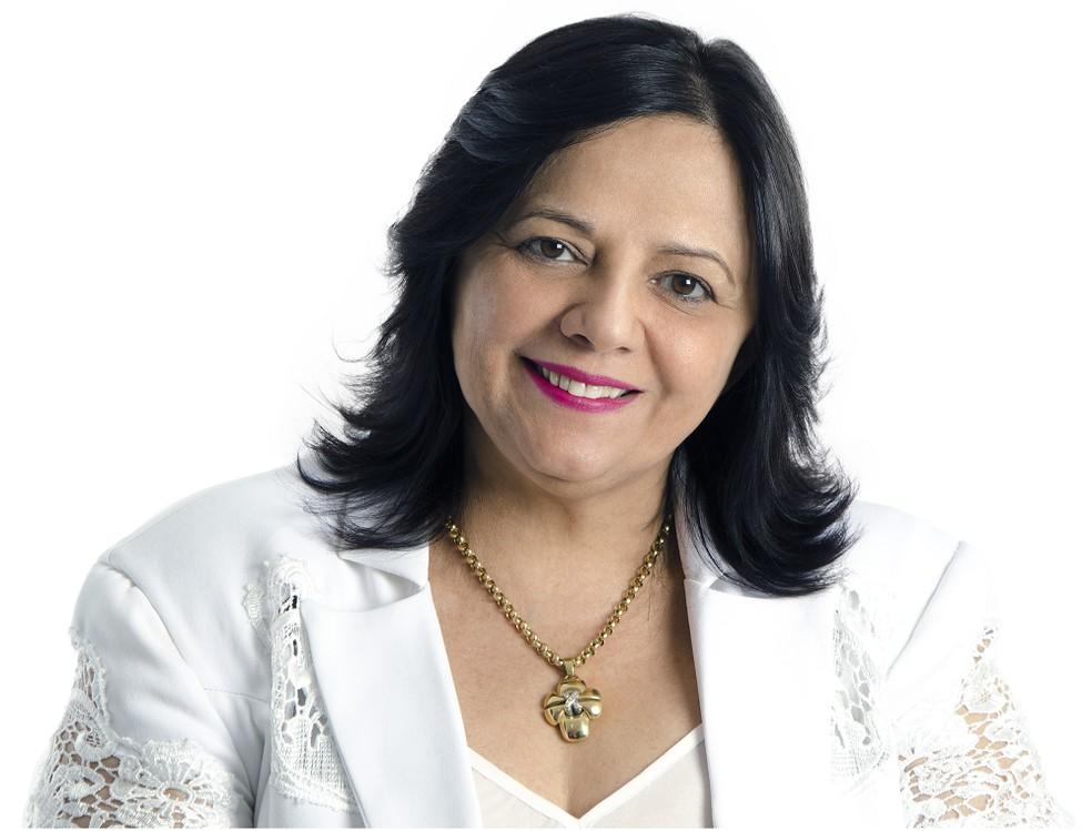 Vaderez Castelo Branco foi reeleita deputada estadual — Foto: Divulgação