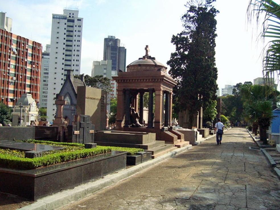 Cemitério da Consolação é um dos mais procurados no Dia de Finados  (Foto: Divulgação/Secom Prefeitura de São Paulo)
