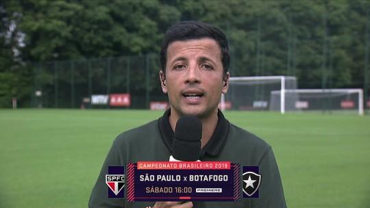 """André Hernan diz que São Paulo """"não fecha a porta para o mercado"""" para possíveis reforços"""