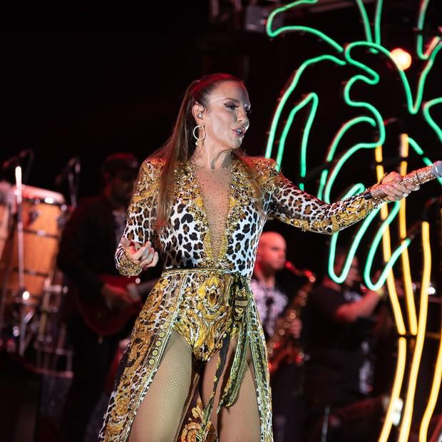 Ivete Sangalo faz show em Brasília (Foto: Gabi de Morais/AgNews)