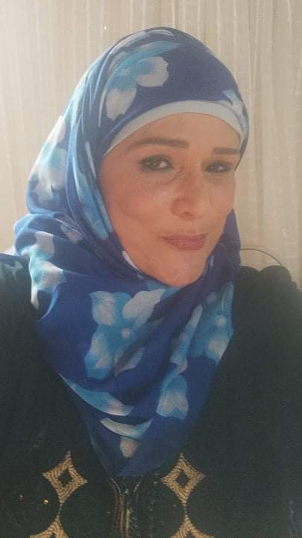 Maha Abdelaziz Zaki Salama Zeineldin é natural do Egito e vive no Brasil é 41 anos — Foto: Arquivo pessoal