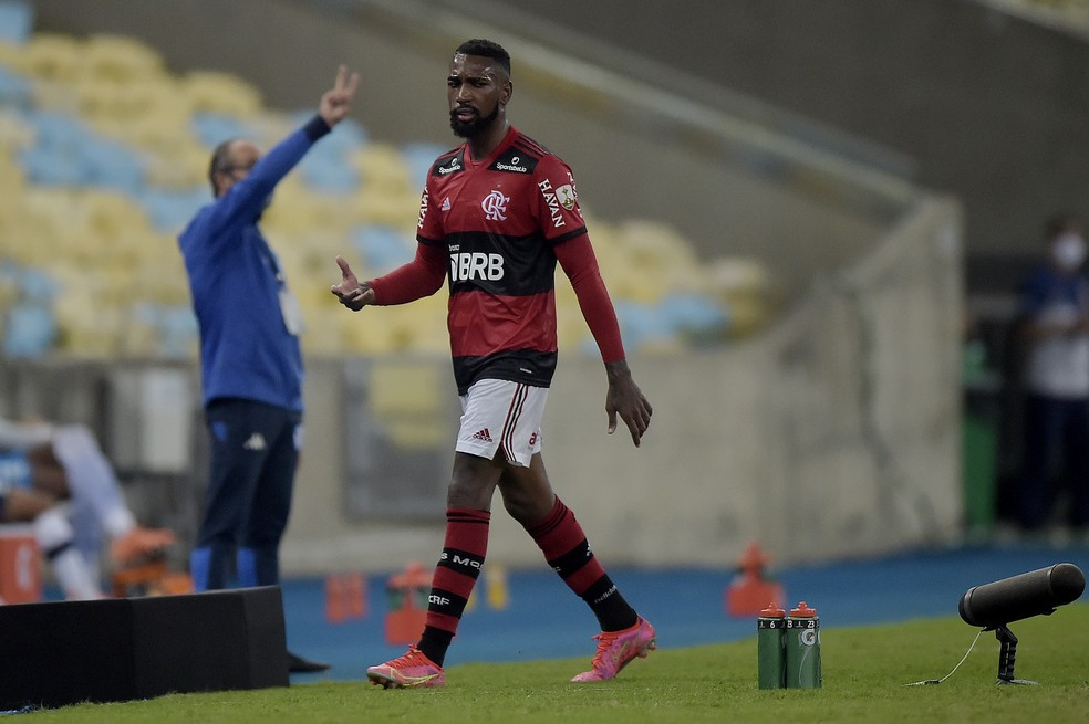 Gerson Flamengo — Foto: Staff Images / Conmebol