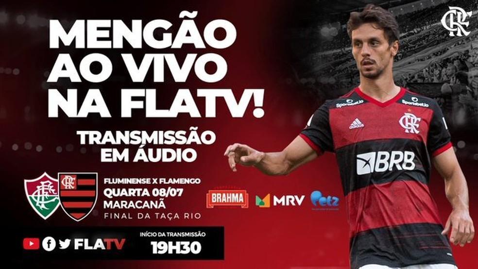 Fluminense x Flamengo: como assistir à final da Taça Rio ao vivo e ...