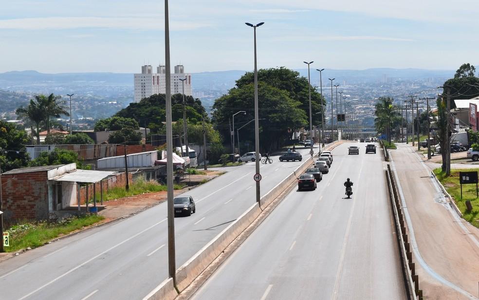 Governo estudo a concessão da GO-060 e de outras seis rodovias (Foto: Paula Resende/ G1)