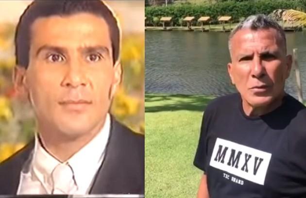 Eri Johnson viveu o divertido mordomo Giácomo Madureira, muito paquerador. Seu último papel na TV foi no especial da Record 'O figurante', de 2019 (Foto: TV Globo / Reprodução)
