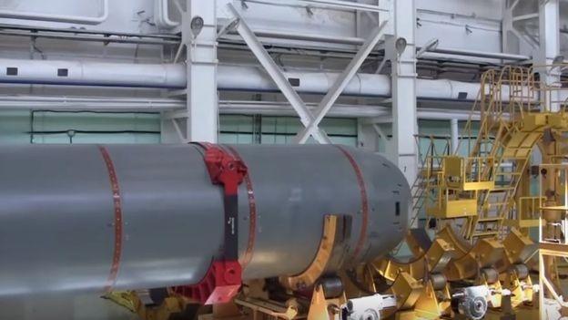 Militares russos já teriam dado início aos testes de sistema subaquático de alcance 'intercontinental' (Foto: Reprodução/YouTube)