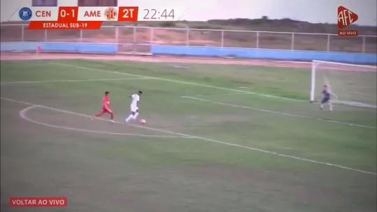 América-RN, ABC e Alecrim goleiam em rodada do Campeonato Potiguar Sub-19