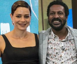 Leandra Leal e Luis Miranda | TV Globo
