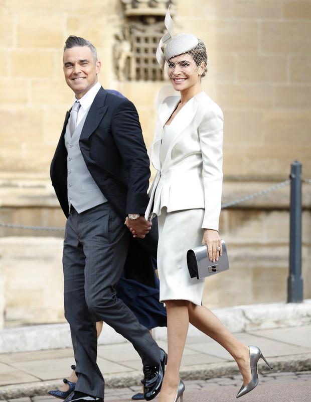 Robbie Williams e sua filha Theodora (Foto: Getty Images/Reprodução)