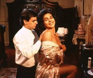 Cassio Gabus Mendes e Betty Faria em cena de 'Tieta' | Bazilio Calazans/ TV Globo