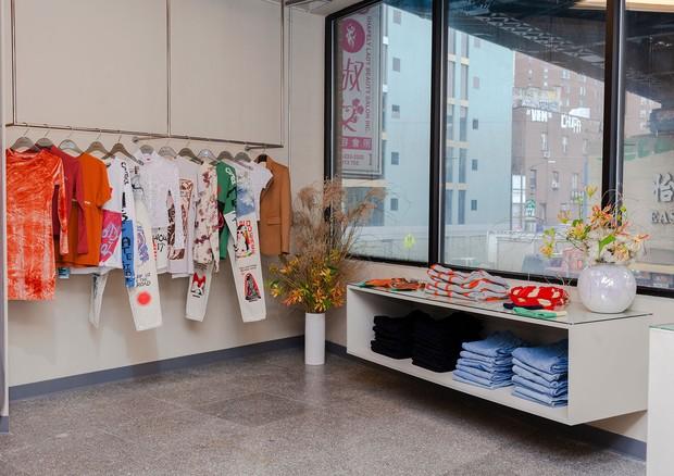 A nova loja da Eckhaus Latta (Foto: Reprodução)