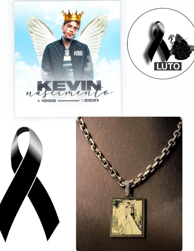 Joalheiro fez colar em homenagem a MC Kevin (Foto: Reprodução/Instagram)