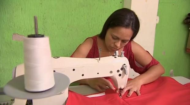 estampas; costura; costureira; (Foto: Divulgação)
