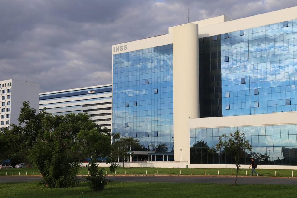 Sede do INSS em Brasília — Foto: Divulgação/INSS