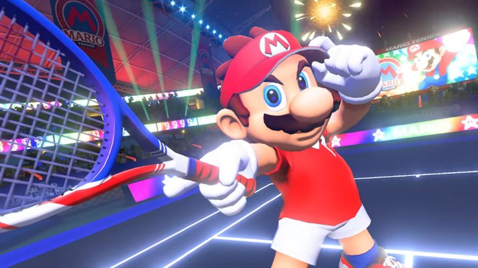 Mario Tennis Ace para o Nintendo Switch trará um modo história para a franquia de esporte (Foto: Reprodução/YouTube)