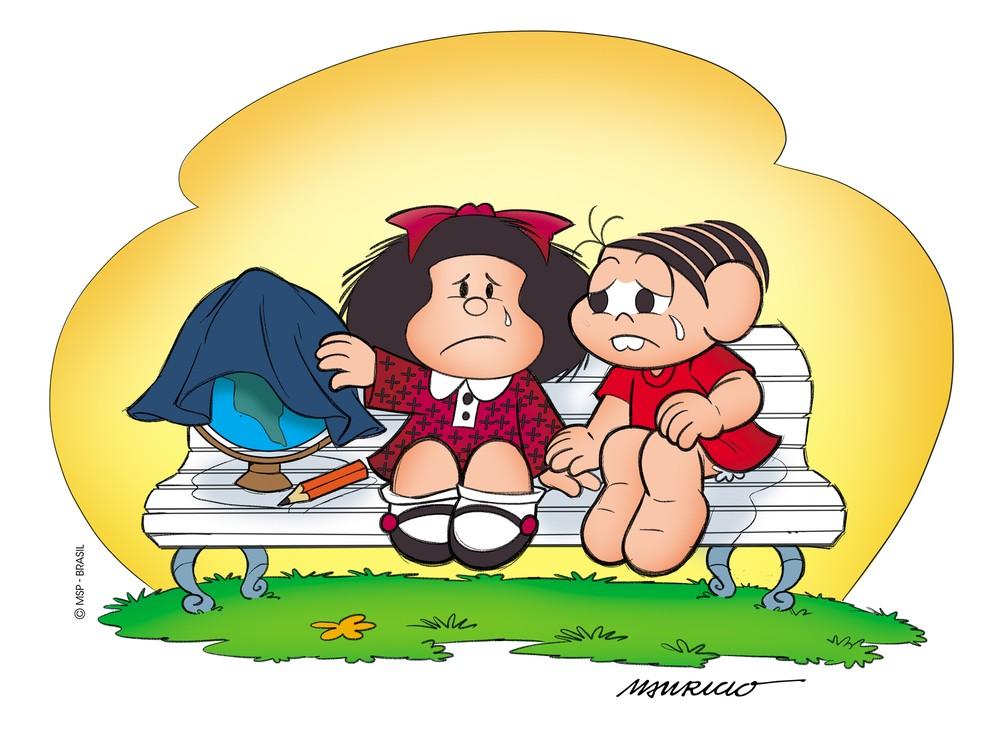 Quino, criador de Mafalda, é homenageado por cartunistas em exposição  virtual; VEJA | Pop & Arte | G1