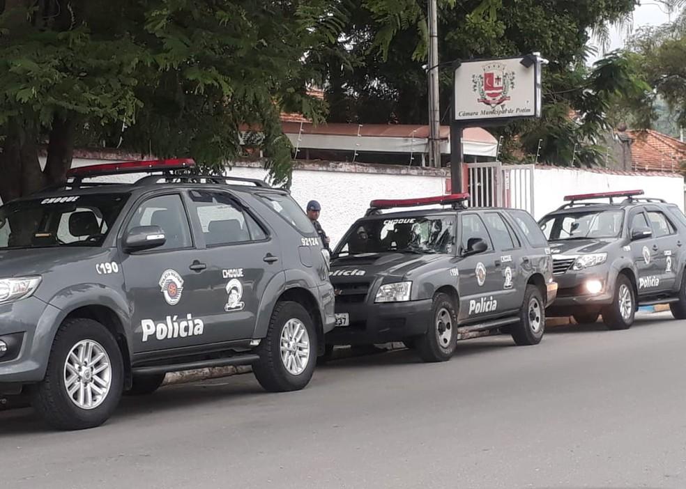 Operação do Gaeco investiga desvio de verbas públicas na Câmara de Potim — Foto: Arquivo Pessoal