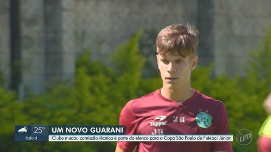 História de ídolos revelados na base motiva Guarani a resgatar sucesso na Copa São Paulo