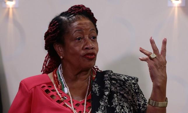 A ministra dos Direitos Humanos, Luislinda Valois