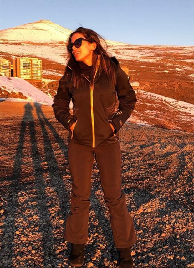 Anitta curte as paisagens do Chile (Foto: Reprodução/Instagram)