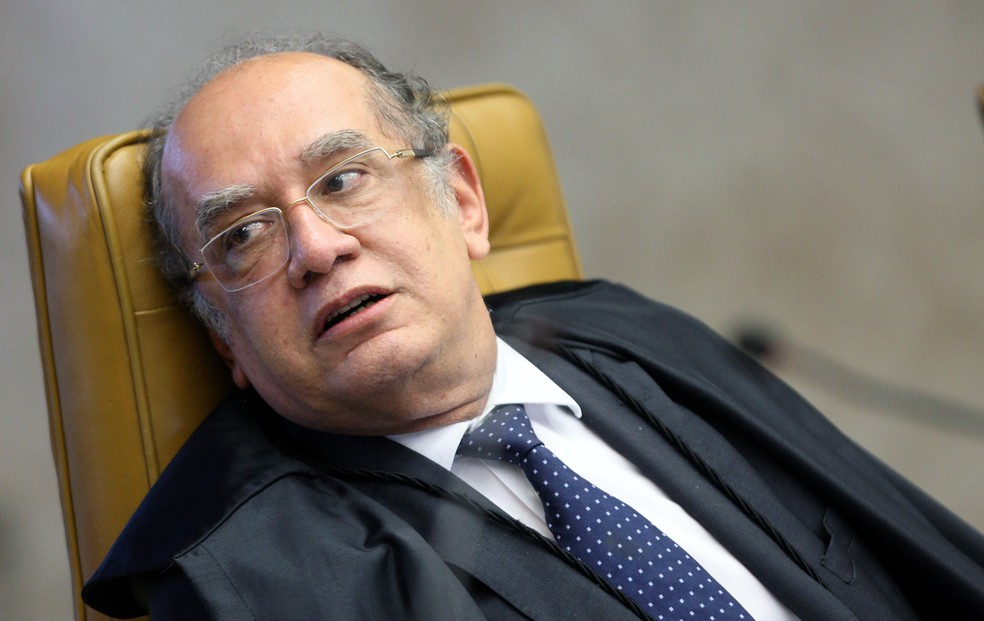 Imagem mostra o ministro do STF Gilmar Mendes (Foto: Nelson Jr./SCO/STF)