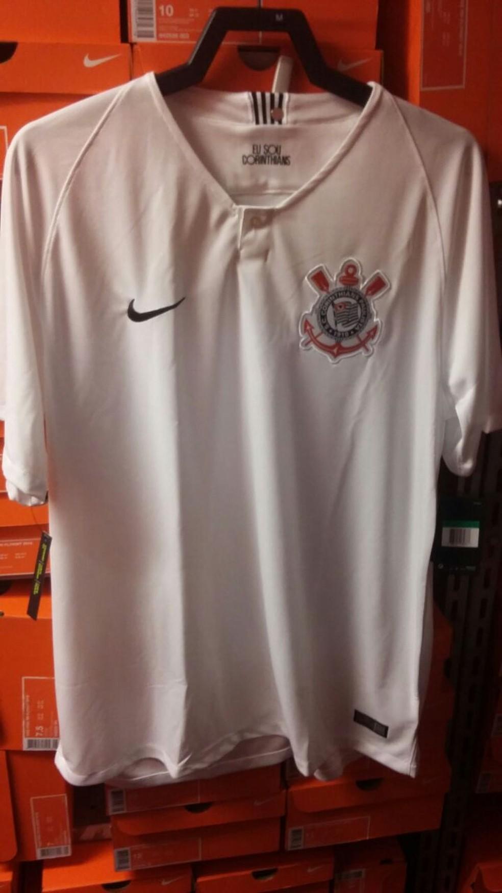 Noca camisa branca do Corinthians  (Foto: Reprodução)