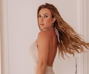 Nicole Bahls define look do Réveillon