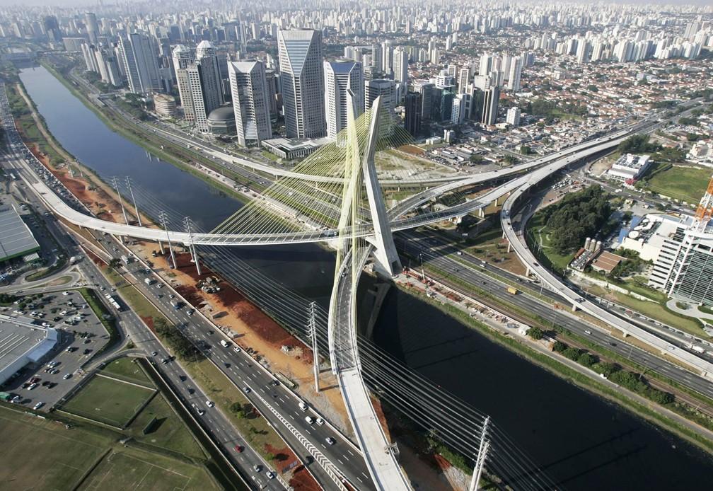 Ponte Estaiada completa 10 anos; confira curiosidades sobre a obra da Zona  Sul de SP | São Paulo | G1