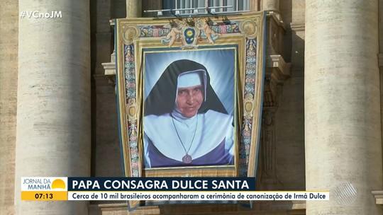 JM no Vaticano: babalorixá e pastor comentam a canonização de Santa Dulce dos Pobres