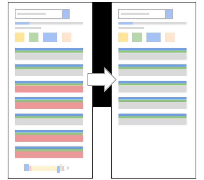 Mudança deve reduzir resultados de pesquisa do Google (Foto: Reprodução/Google)