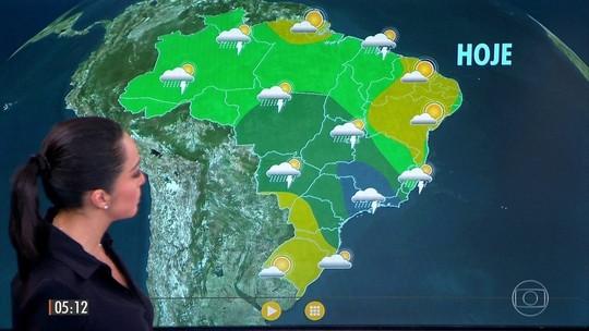 SP, RJ e sul de MG têm alertas de temporais nesta quarta
