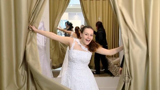 'Quero esse visual': estilista dá dicas para escolher vestido de noiva