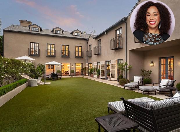 Shonda Rhimes colocou a mansão no mercado por cerca de 10 milhões de dólares (Foto: Berkshire Hathaway HomeServices/ Reprodução)