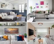 Salas pequenas: 15 ideias de decoração simples e barata
