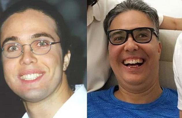 Em eu último trabalho na TV, Flávio Silvino foi Paulo. Hoje, vive com a família e ainda tem sequelas do acidente que sofreu em 1993 (Foto: TV Globo / Reprodução)