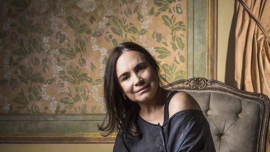 Regina Duarte sobre Madame Lucerne, de 'Tempo de Amar': 'Ela é bem misteriosa'
