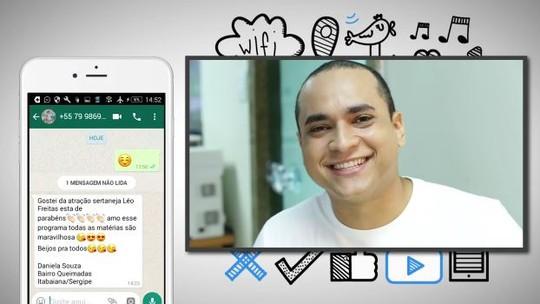 VC no 'Combinado': participe e interaja através das redes sociais
