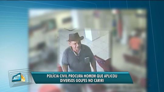 Suspeito de aplicar golpes no Cariri da Paraíba é procurado pela Polícia Civil